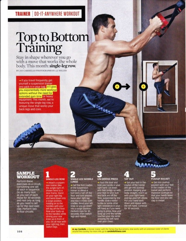 Jay Cardiello Do-It-Anywhere Workout