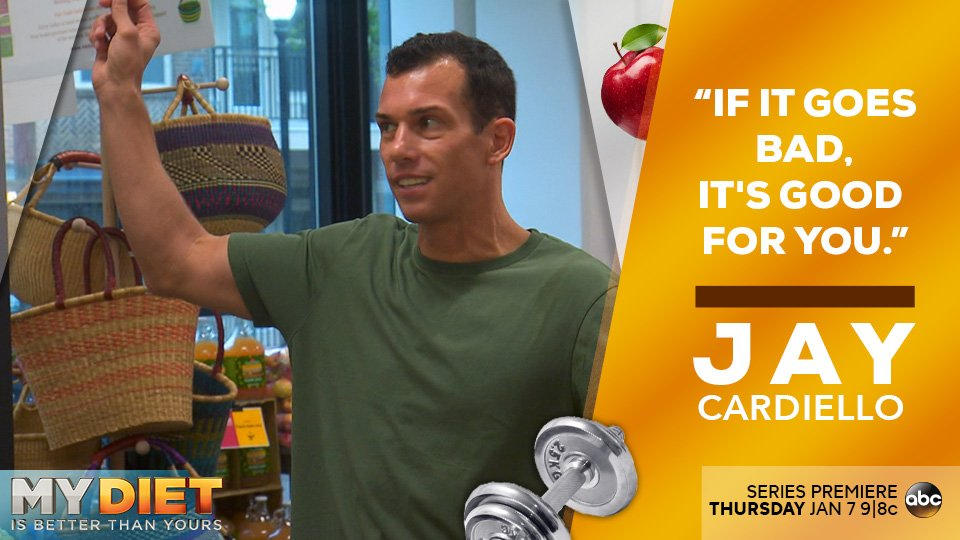 Jay Cardiello My Diet is Better Than Yours